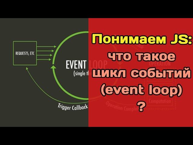 Про цикл событий в JavaScript или как на самом деле работает асинхронность?