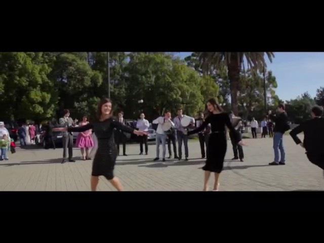 Свадьба танцоров. Абхазский танец, ансамбль Кавказ, Абхазия, Сухум