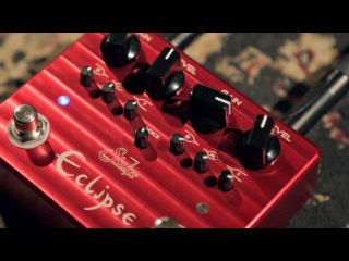 SUHR ECLIPSE - DUAL CHANNEL OVERDRIVE/DISTORTION - FEATURING JAMES NORBERT IVANYI