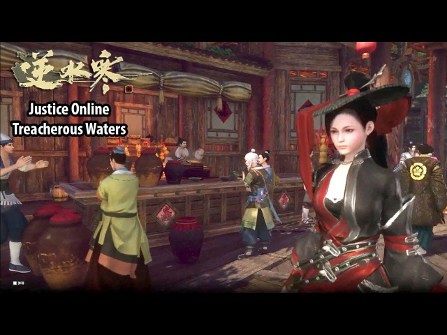 Justice Online Treacherous Waters 逆水寒ol - Story Ingame Cutscene Gameplay Class Show