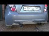 Chevrolet Aveo Авео обзор выхлопной системы MUTE