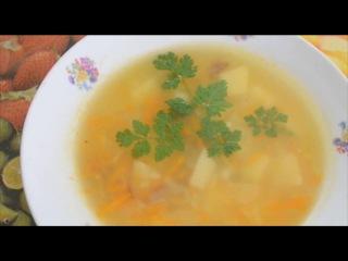 Легкий суп из рыбных хребтов