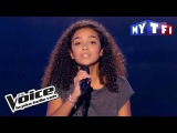Lucie -  It's a man's man's man's world  (James Brown)  The Voice France 2017  Blind Audition