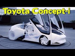 Test Drive 2017. Toyota Concept-i. Тест Драйв новый Тойота Концепт-и. Видео обзор