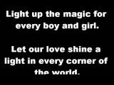 Katrina &amp The Waves - Love Shine A Light  LYRICS