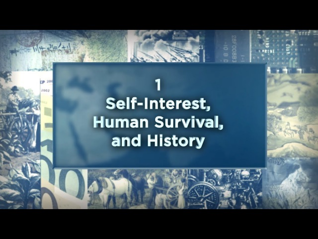 An Economic History of the World Since 1400   Self-Interest, Survival, and History The Great Courses