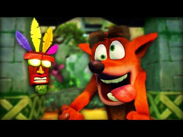 WELCOME TO MY CHILDHOOD | Crash Bandicoot Warped (N. Sane Trilogy) - Part 1