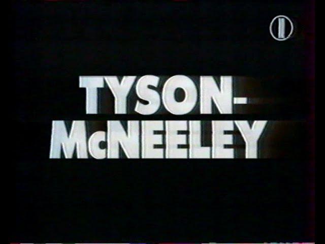 Тайсон Макнили Первый бой после тюрьмы полная версия Рус яз 1995 год 1 канал Tyson McNeeley nfqcjy jq gjckt n h