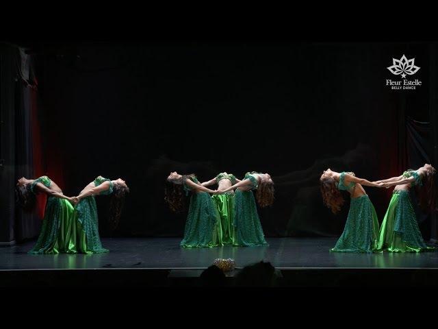 Samara classic belly dance by Fleur Estelle Dance Company to Dr Samy Farag