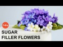 Small Sugar Filler Flowers Cake Decorating Tutorial with Jacqueline Butler