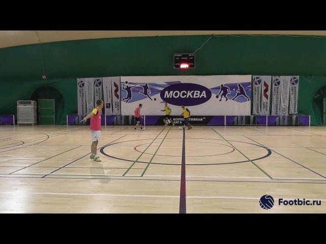 FOOTBIC.RU. Видеообзор 31.08.2017 (Метро Марьина Роща). Любительский футбол