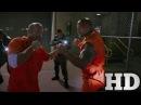 Форсаж 8 побег из тюрьмы дуэйн джонсон против джейсона стетхема HD