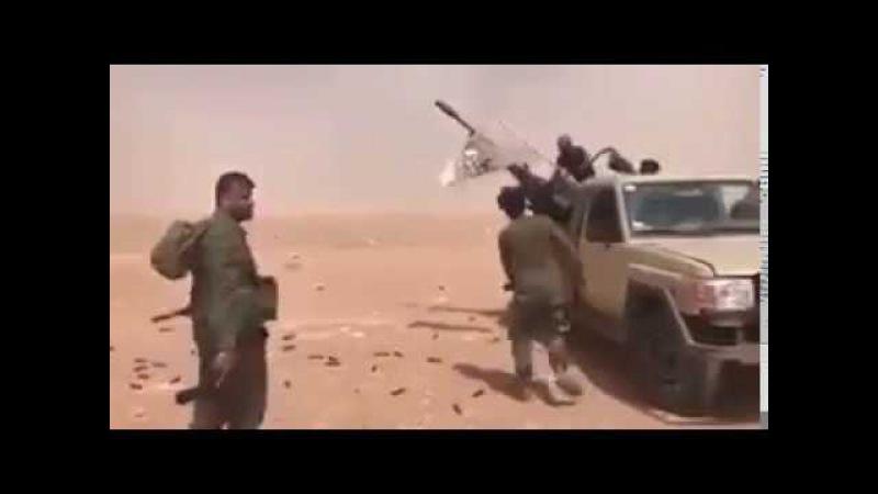 СРОЧНО: Сирийские бойцы открыли огонь по самолету коалиции США Опубликовано: 20 мая 2017 г. youtu.be/gsBZEdmqA-E СРОЧНО: Сирийские бойцы открыли огонь по самолету коалиции США (ВИДЕО) 21.05.2017 - 6:35 Cамолет коалиции США был обстрелян над Сир