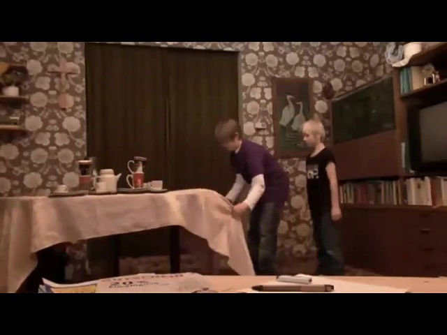 Michel Sven - Der Tischdeckentrick - Teil 4 / The Table Cloth Magic Trick (Original)
