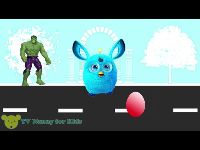Learn colors Eggs surprise open toys Animation for Children (parody)