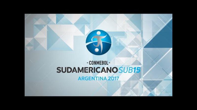 [12.11.2017] Brazil x Venezuela - Campeonato Sudamericano sub 15 Argentina 2017