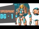Robot design | Speedpaint 7