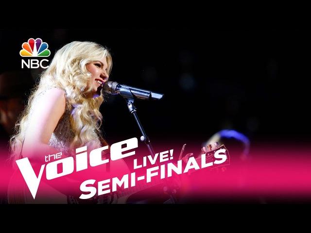 The Voice 2017 Brennley Brown - Semifinals: