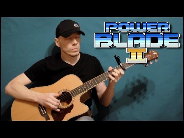 Zubareus - Power Blade 2 - stage 4 (fingerstyle cover)