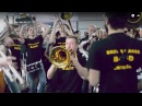 Brevis Brass Band and marching bands flashmob in Sochi International Airport