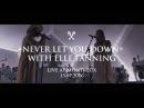 Woodkid feat Elle Fanning Never Let You Down Live at Montreux 15 07 2016