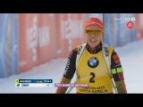 Лаура Дальмайер выиграла гонку преследования и гарантировала БХГ, Дорен Абер - 2-я, Витоции - 3-я - Контиолахти 2017