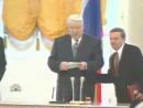 Конец речи. Пьяный в жопу Ельцин