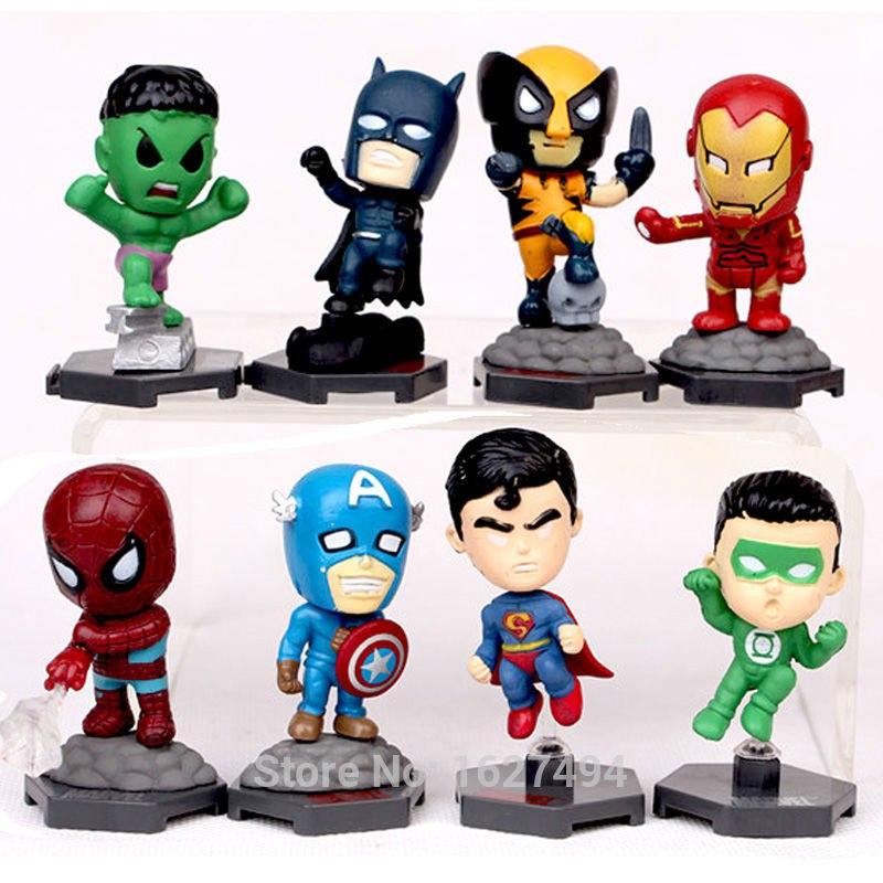 Супергеройские минифигурки
