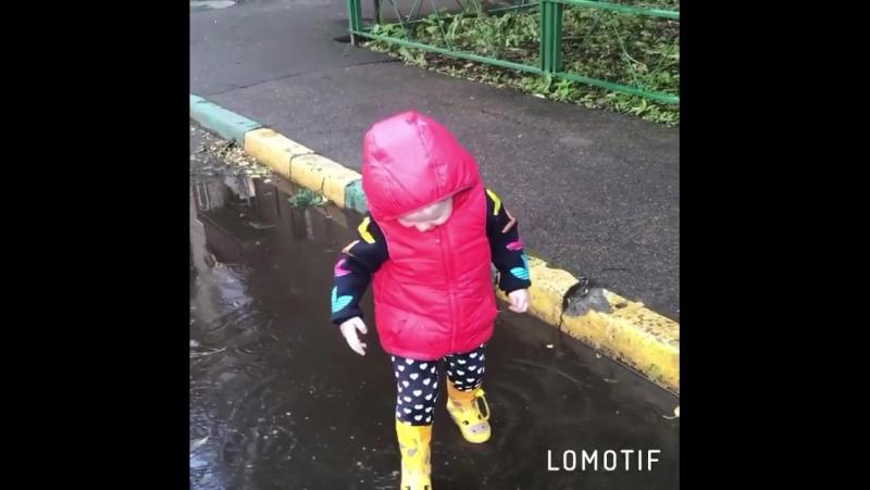 доча доченька дождь дождик лужа лужи погода... Погода в городах России 23.06.2017