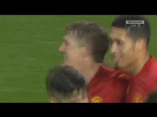 Манчестер Юнайтед - Уиган. Гол Швайнштайгера
