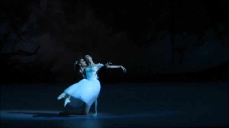 Svetlana Zakharova, Sergei Polunin - the first joint Giselle