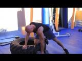 Тренировка спины для набора мышечной массы.Денис Семенихин