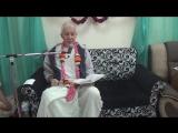 ШБ 7.12. 29 - 31 Чайтанья Чандра Чаран прабху. Вриндаван. 10.11.2016