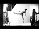 Backstage. Ballet shooting.