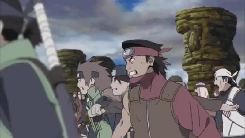 Момент из 322 серии аниме Наруто: Ураганные хроники / Naruto Shippuuden