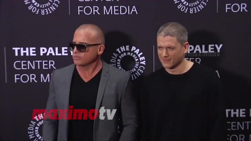 Wentworth Miller and Dominic Purcell Prison Break 2017 PaleyLive LA Spring Season