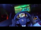 Игра в Forza Motorsport 7 за рулём реальной Lamborghini.