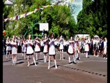 Флешмоб 11-х классов, г.Курск, школа №10, выпуск 2017