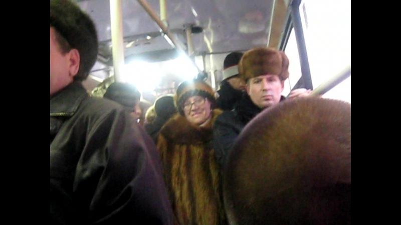 18 автобусный дрочер