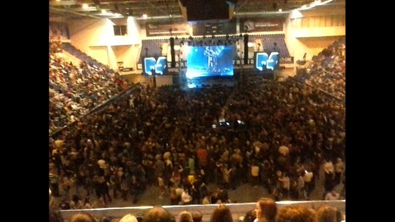 Руки_Вверх, минут за 15 до начала концерта