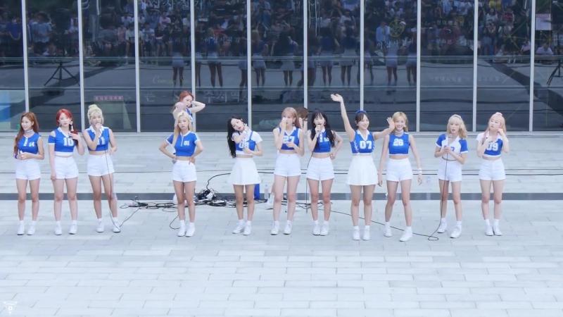 [4K] 170716 우주소녀(WJSN) 전체 - 중간멘트 @게릴라공연(SRT수서역)-직캠 By 쵸리(Chori)