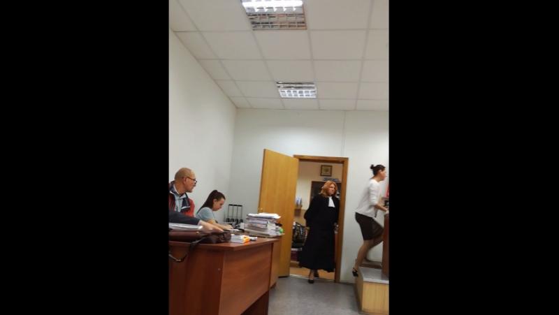 2-е заседание Хорошевский суд судья Ланина Л.Е. 19.09.2017г.