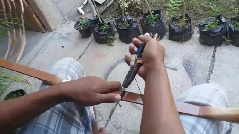 Tutorial Lengkap Cara Membuat Busur Dari Fiber