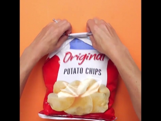 ポテチを食べる時に使いたい便利な裏ワザ