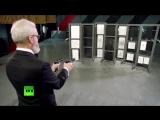 Один из Защитников Отечества - Президент Федерации практической стрельбы России Виталий Крючин. Вальс Штрауса на пистолетах!