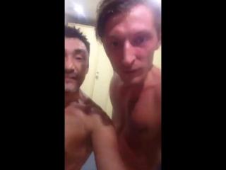 Тут Паша Воля в Казани в бане парится? Передает всем привет✌?