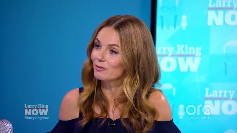 Geri Ginger Spice Halliwell is all about a Spice Girls reunion! _ Larry King N.TV