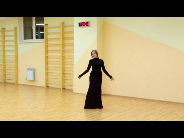 Грузинский танец Ачарули Одинокий черный лебедь