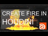 Create Fire In Houdini Basic Tutorial (CBAS)