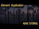 Nuke Tutorial :  Element  Duplication  using Particles